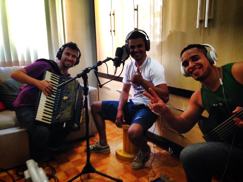 Gravação CD Carlim Alves